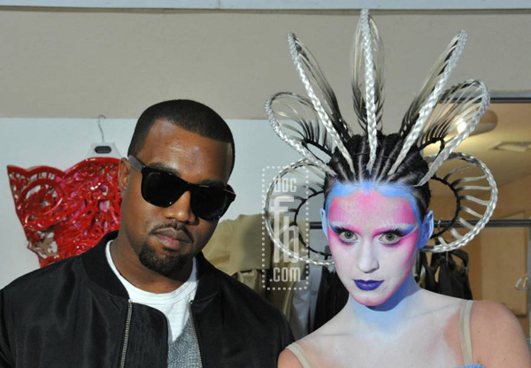 Kanye West & Katy Perry. Promotional Photo For DrFunkenbery.com