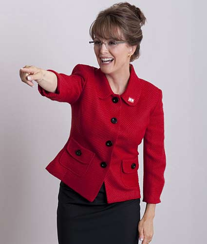 Julianne Moore As Sarah Palin.  Photo:  Phillip V. Caruso/HBO