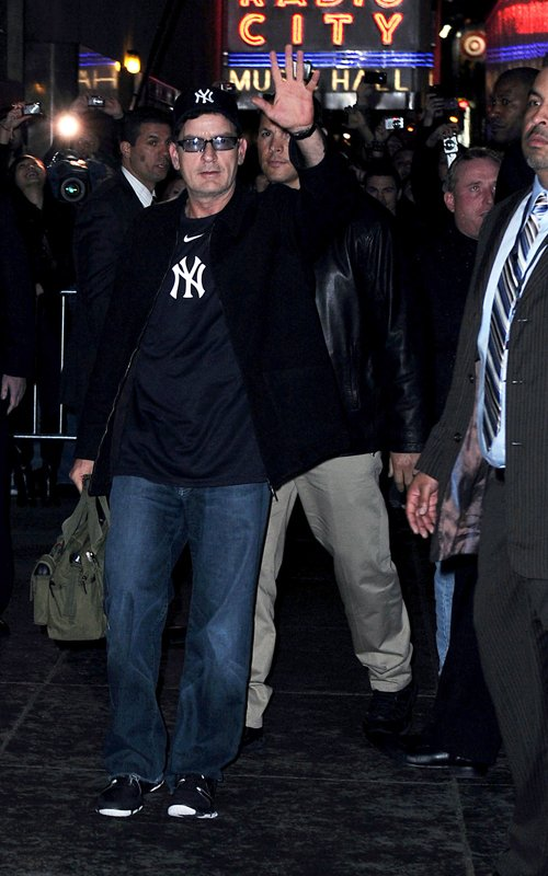 Charlie Sheen. Photo: FamePictures.com