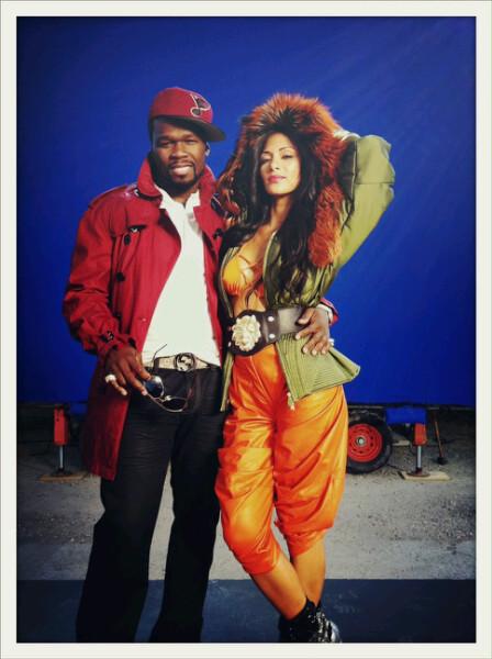 50 Cent & Nicole Sherzinger. Promotional Photo