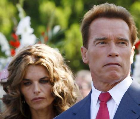 Maria Shriver & Schwarzenegger File Photo