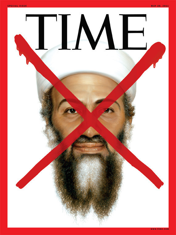 Osama Bin Laden Time Cover. Photo: Time Magazine