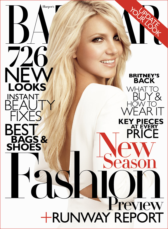 Britney Spears. Photo: Harpers Bazaar