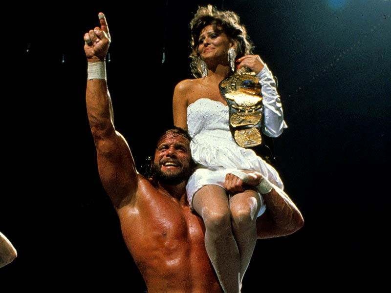 Randy &quot;Macho Man&quot; Savage &amp; Miss Elizabeth. Photo: WWE.com