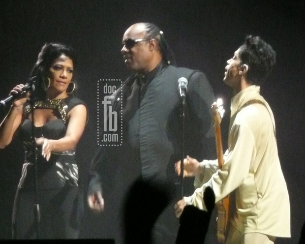 Sheila E., Stevie Wonder & Prince Photo: Mickey President Copyright NPG Records 2011