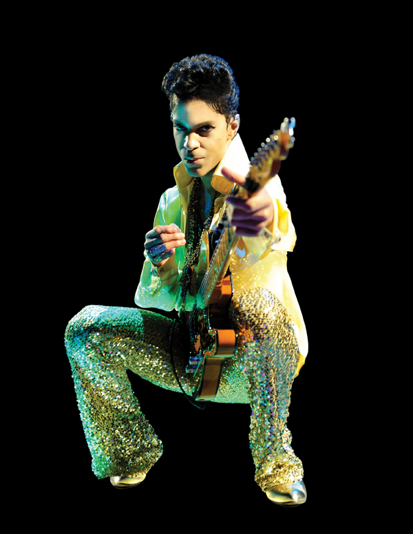 Prince. Photo: Kevin Mazur Copyright WireImage.com/NPG Records 2011