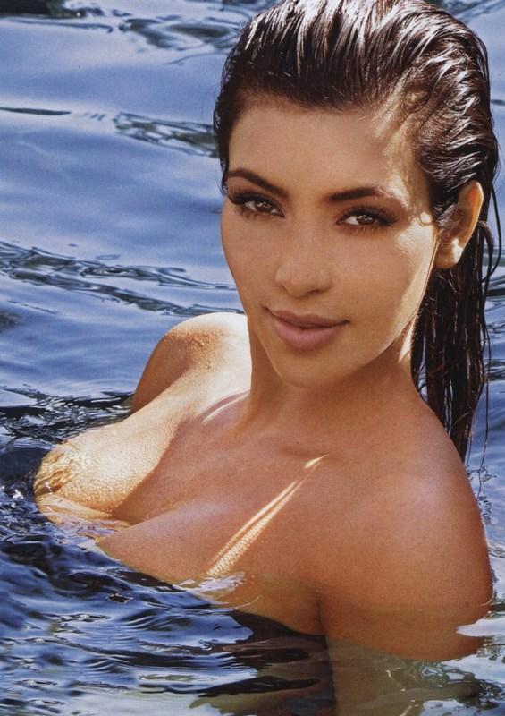 Kim Kardashian. Photo: FHM.com