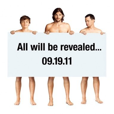Cast Of 2 And A Half Men Promo Poster. Photo: Warner Bros. Television