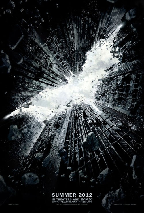 The Dark Knight Rises Movie Poster. Photo: Warner Bros. Pictures