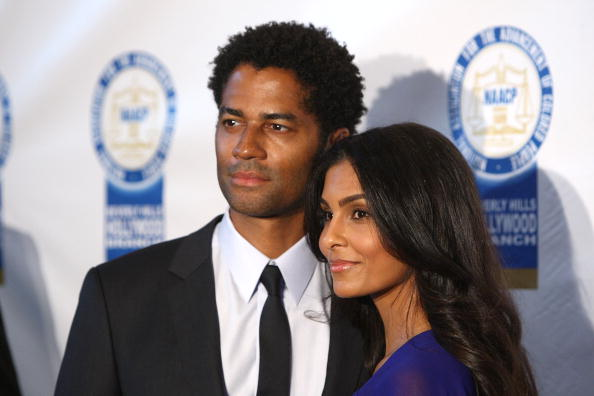 Eric Benet & Manuela Testolini Photo by Alberto E. Rodriguez/Getty Images