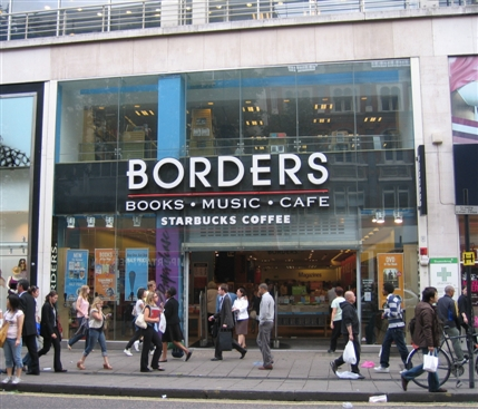 Borders Books Is Closing. File Photo