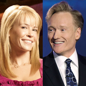 Chelsea Handler/Conan O&#039;Brien. Photo: Eonline.com