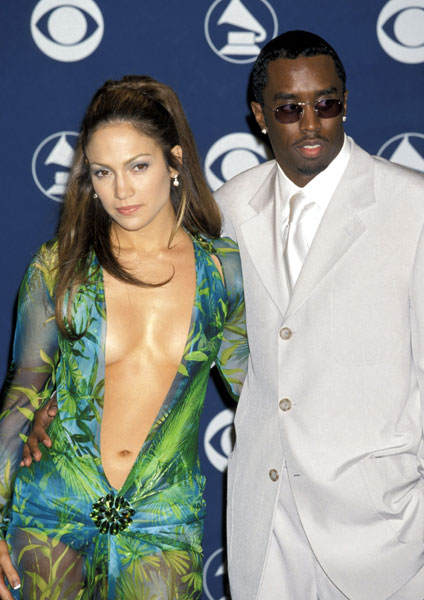 The Dress, Jennifer Lopez &amp; Diddy. File Photo