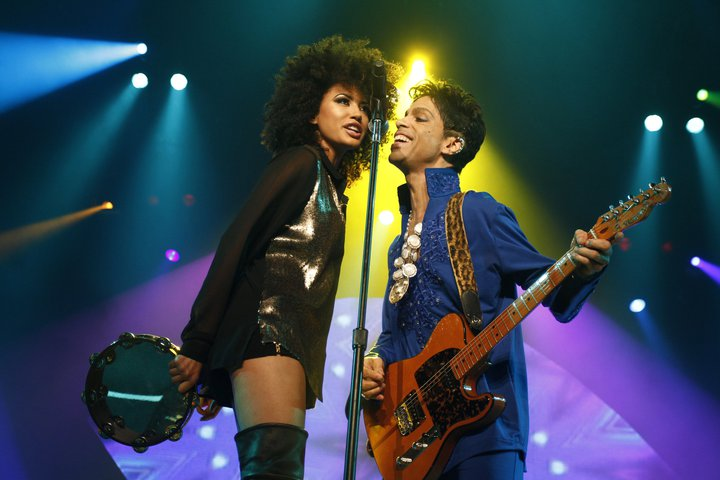 Prince & Andy Allo. Photo : NPG Records 2011