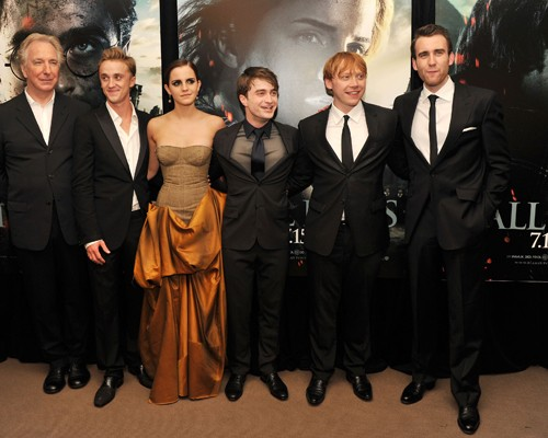 Harry Potter &amp; The  Deathly Hallows Cast.  Photo:  GettyImages.com