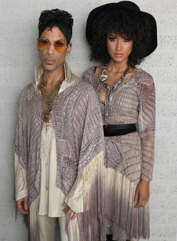 Prince & Andy Allo. Photo: Copyright NPG Records 2011