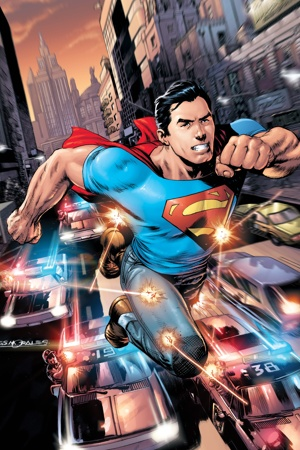 Superman Photo: DCComics.com & The NewYorkPost.com