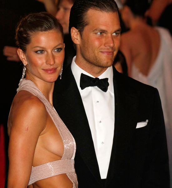 Gisele Bundchen &amp; Tom Brady: Photo: Marcel Thomas/FilmMagic