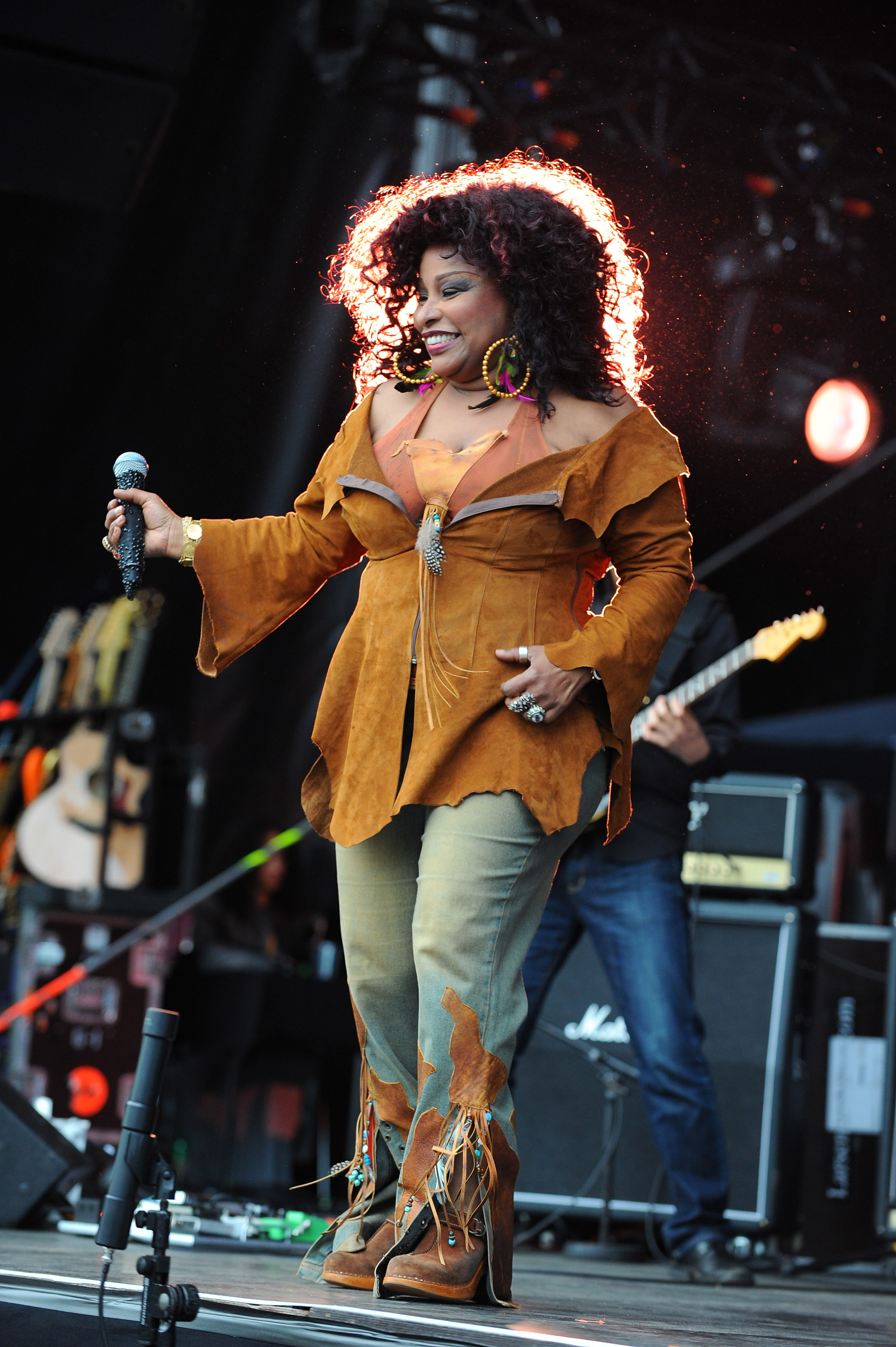Chaka Khan Performing At NPG Music & Arts Festival. NPG Records 2011