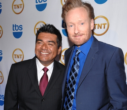 George Lopez &amp; Conan O&#039;Brien Photo: AccessHollywood.com