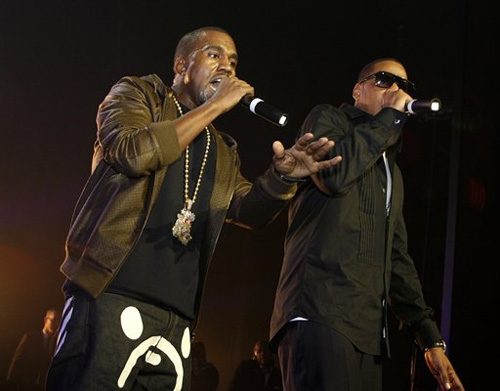 Kanye West & Jay Z File Photo