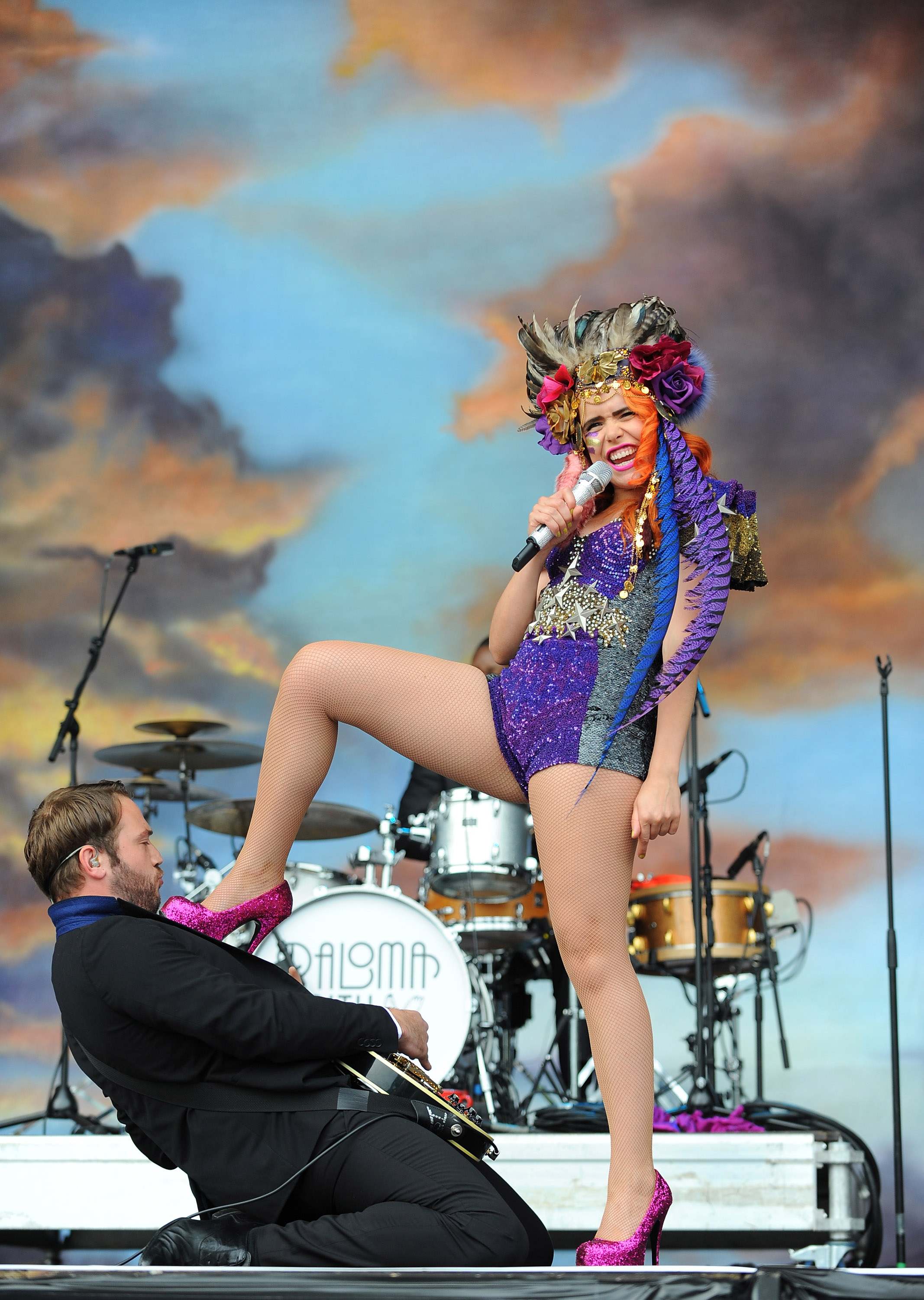 Paloma Faith Performing At The NPG Music And Arts Festival Copyright NPG Records 2011
