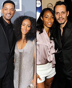 Will Smith & Jada Pinkett Smith/Jada Pinkett Smith & Marc Anthony Photo UsWeekly.com