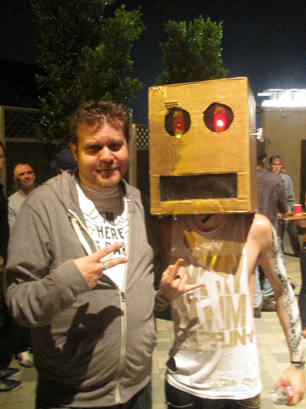 The Doc & The LMFAO Shufflebot.