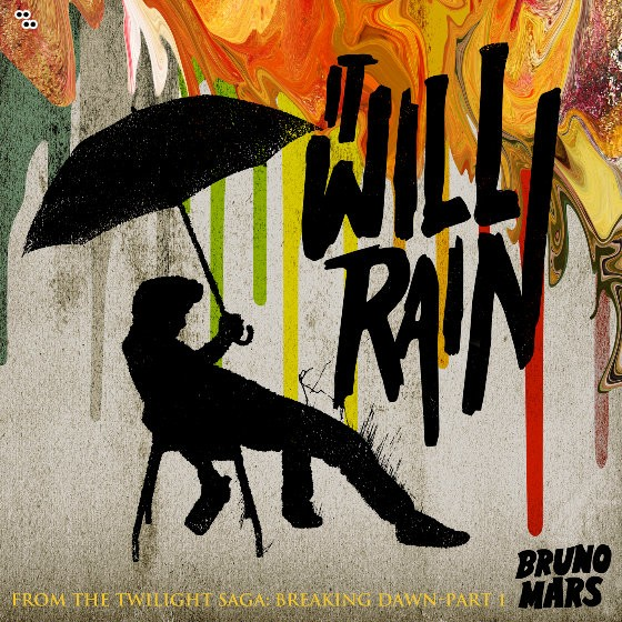 Bruno Mars It Will Rain Single Cover