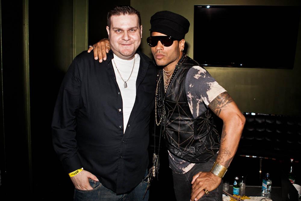 DocFB & Lenny Kravitz. Photo: Mathieu Bitton