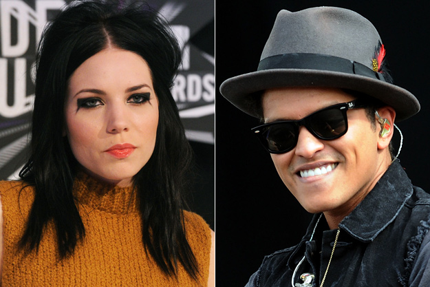 Skylar Grey/Bruno Mars. photo: Popcrunch.com