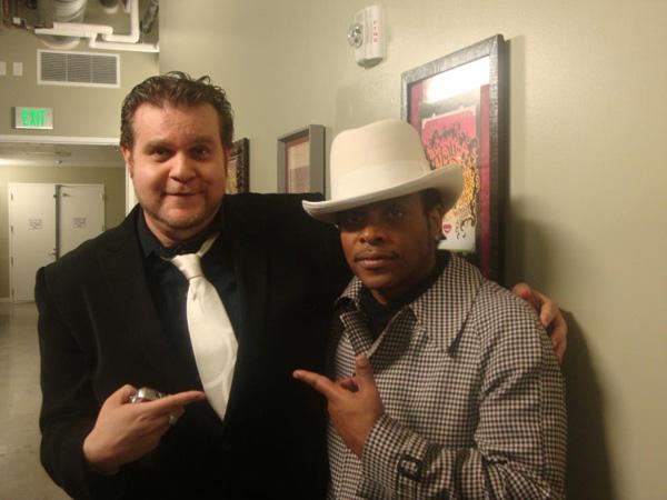 DrFunk & Jesse Johnson. Photo: Cody Breedlove