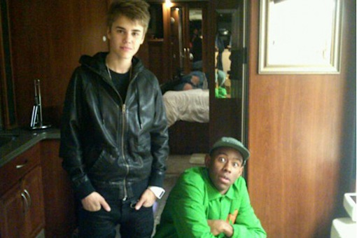 Justin Bieber & Tyler The Creator File Photo