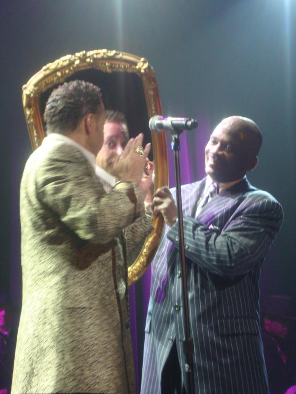 Morris Day, Jerome Benton &amp; The Mirror. Photo: Cody Breedlove