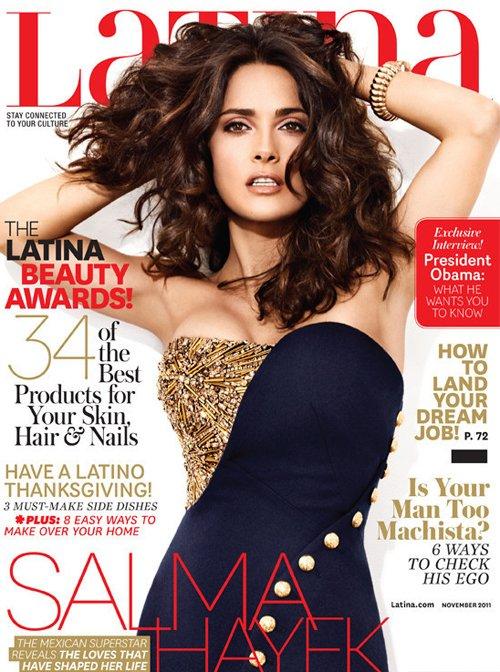 Salma Hayek Latina Cover