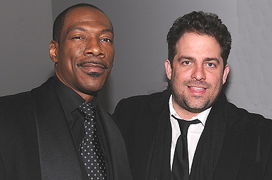 Eddie Murphy &amp; Brett Ratner. Photo: Euroweb,com