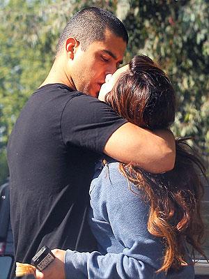 Wilmer Valderama & Demi Lovato. Photo: Sam Sharma/Pacific Coast News