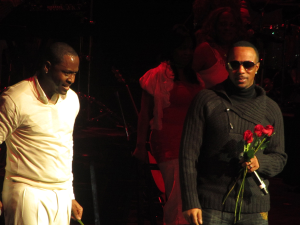 Johnny Gill & Ralph Resvant. Photo: DrFunkenberry