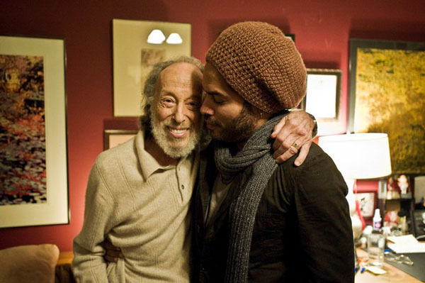 Herman Leonard & Lenny Kravitz. Photo: Mathieu Bitton