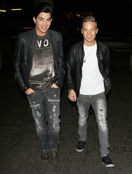 Adam Lambert & Sauli Koskinen. Photo: Flynetonline.com
