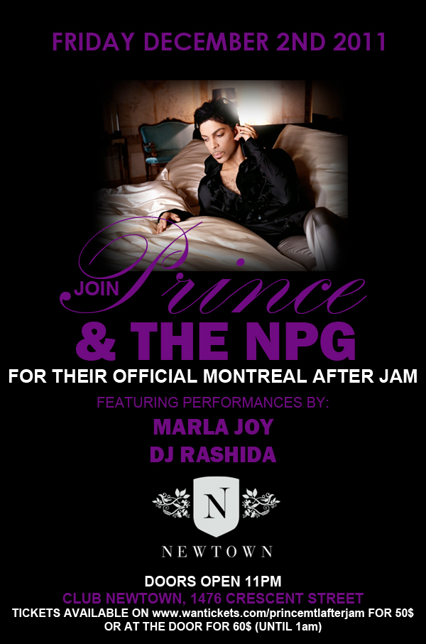 Prince Montreal Afterjam