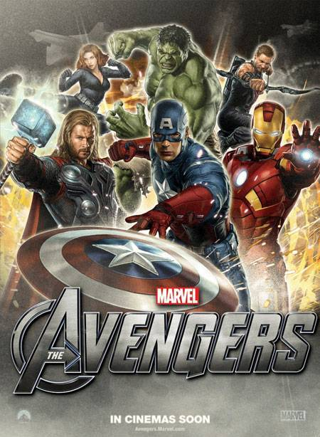 Avengers Movie Poster. Marvel Studios