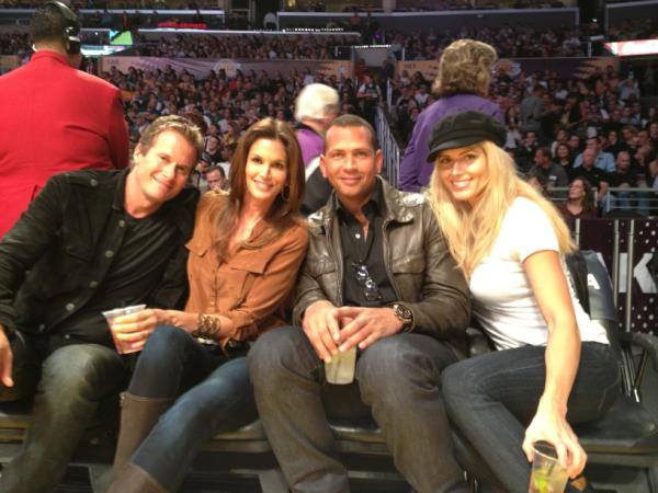 Randee Gerber, Cindy Crawford, A-Rod, Tori Wilson Photo: Cindy Crawford