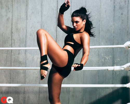 Gina Carano. Photo: GQ Magazine