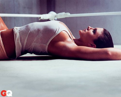Gina Carano. Photo: GQ Magazine
