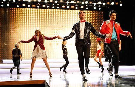 Glee MJ Episode. Photo: FOX