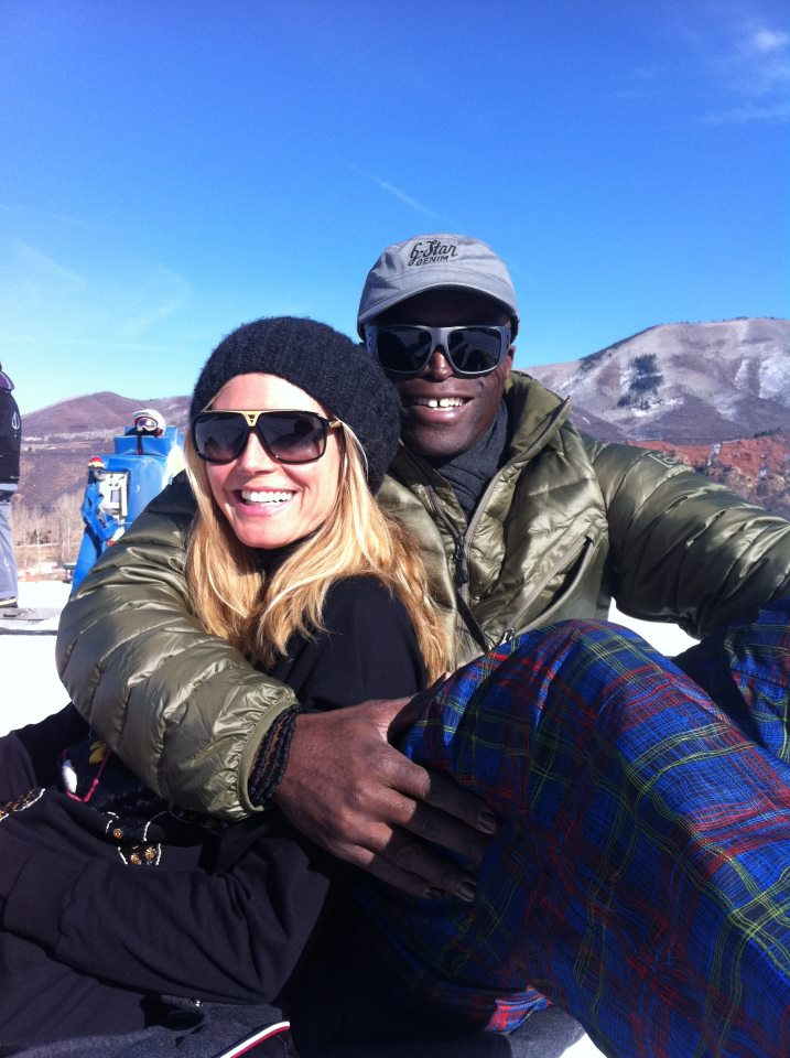 Heidi Klum &amp; Seal. Photo: Heidi