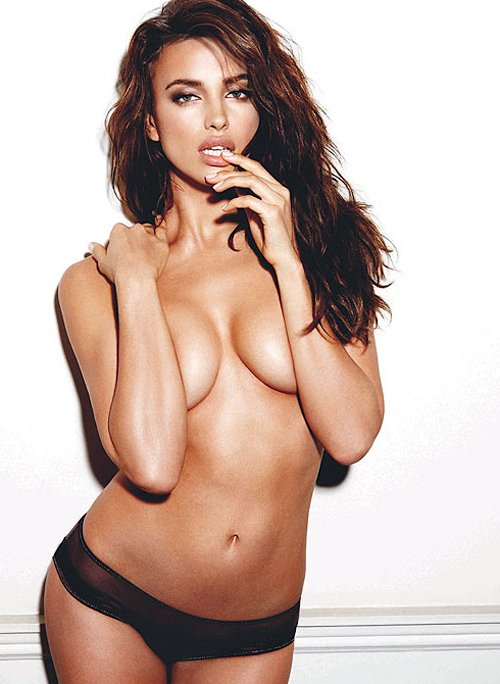 Irina Shayk Photo: Yu Tsai for Esquire UK