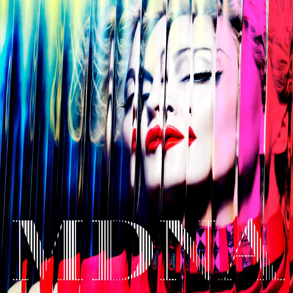 MDNA. Madonna. Photo: Interscope Records