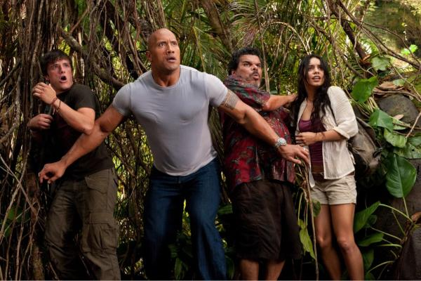 The Rock Journey To Mysterious Island.  Photo:  Warner Bros. Films